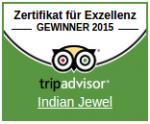 TripAdvisor Zertifikat fur Exzellenz 2015