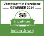 TripAdvisor Zertifikat fur Exzellenz